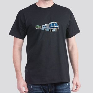 RV Towing Car Dark T-Shirt
