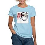 SANTA WHERE MY HOs AT? Women's Light T-Shirt