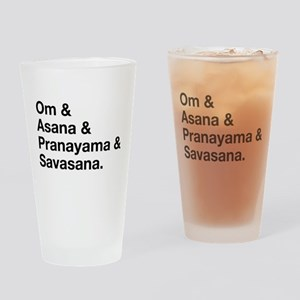 yoga ingredients Drinking Glass