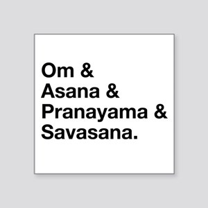 yoga ingredients Sticker
