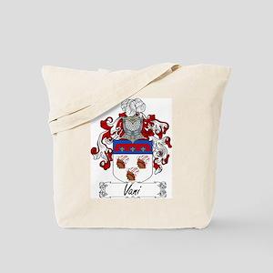 Vani Family Crest Tote Bag