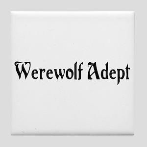 Werewolf Adept Tile Coaster