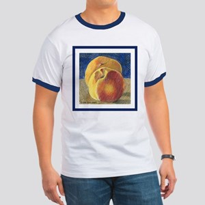 Two Peaches Ringer T