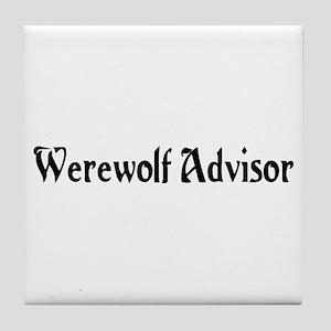 Werewolf Advisor Tile Coaster