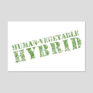 Human Vegetable Hybrid Mini Poster Print