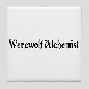 Werewolf Alchemist Tile Coaster