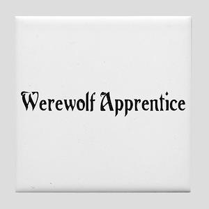 Werewolf Apprentice Tile Coaster