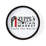 Zeppe's Italian Market Wall Clock
