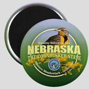 Nebraska State Bird & Flower Magnets