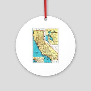California Pride! Ornament (Round)