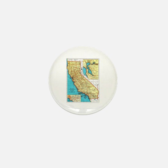 California Pride! Mini Button