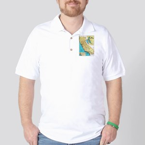 California Pride! Golf Shirt