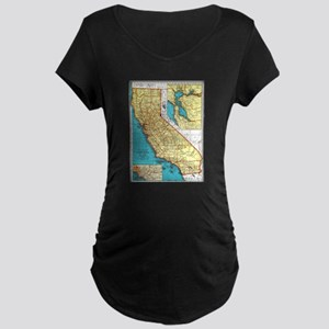 California Pride! Maternity Dark T-Shirt
