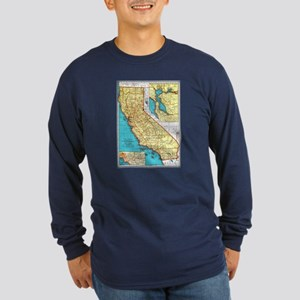 California Pride! Long Sleeve Dark T-Shirt