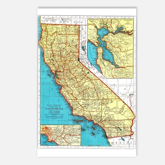 California Pride! Postcards (Package of 8)