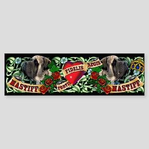 Tattoo Mastiff Bumper Sticker