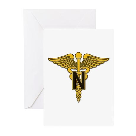 Army Nurse Corps Greeting Cards (Pk of 20)