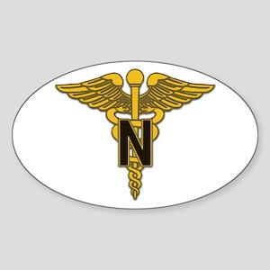 Army Nurse Corps Oval Sticker