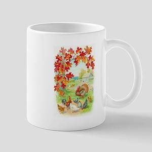 Thanksgiving Farm Design Mug