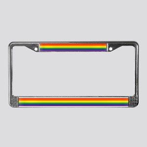 Rainbow<br> License Plate Frame