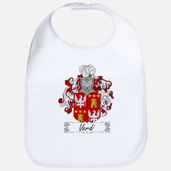 Verdi Family Crest Bib