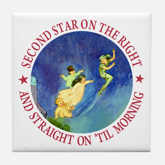 PETER PAN - FAIRY DUST Tile Coaster