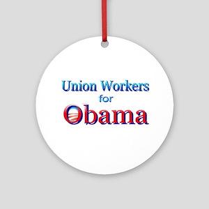 Union Ornament (Round)
