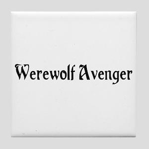 Werewolf Avenger Tile Coaster