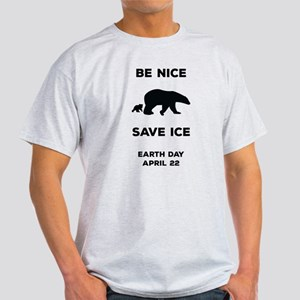Be Nice Save Ice (Dark) T-Shirt