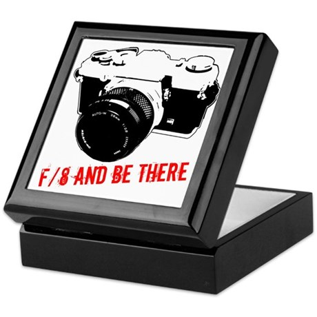 f/8 and be there Keepsake Box