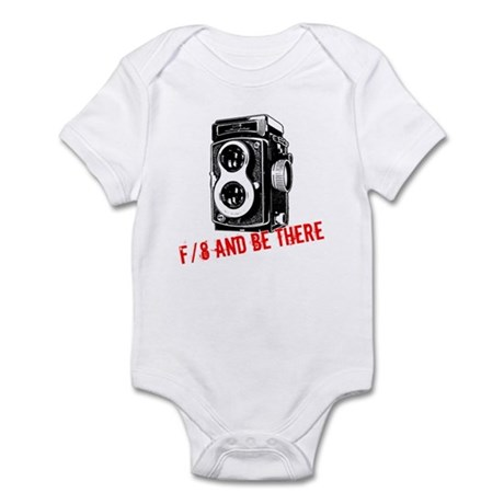 f/8 and be there Infant Bodysuit