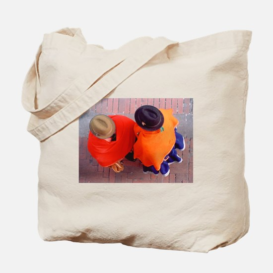 """Two Hats"" Tote Bag"