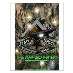 Utah Space Command Small Poster