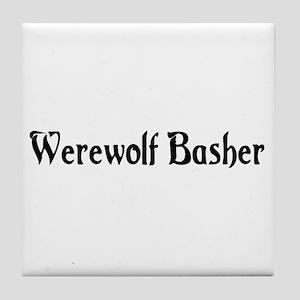 Werewolf Basher Tile Coaster