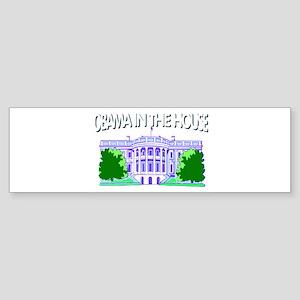 Obama 2012 in the house Sticker (Bumper)