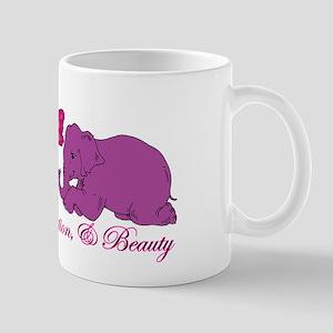 Strength, Dedication, & Beauty Mug