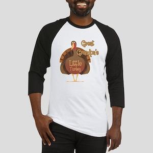 Great Grandpa's Little Turkey Baseball Jersey