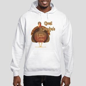 Great Grandpa's Little Turkey Hooded Sweatshirt