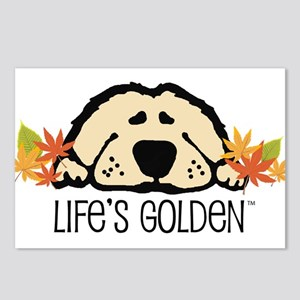 Life's Golden Fall Postcards (Package of 8)