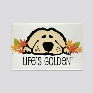 Life's Golden Fall Rectangle Magnet