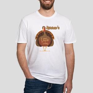 Mammaw's Little Turkey Fitted T-Shirt