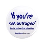 """""""Paying Attention"""" 3.5"""" Button (100"""