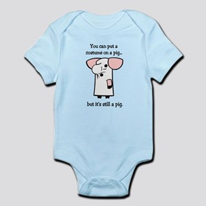 Costume on a Pig Infant Bodysuit