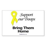 """Bring Them Home"" Rect Sticker (10)"