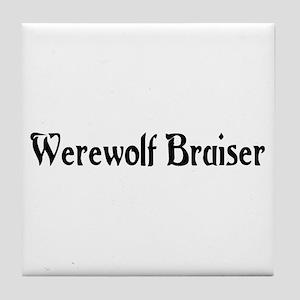 Werewolf Bruiser Tile Coaster