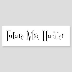 Future Mrs. Hunter Bumper Sticker