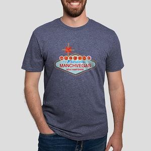 Manchvegas with Star T-Shirt
