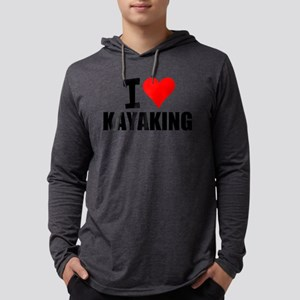 I Love Kayaking Long Sleeve T-Shirt