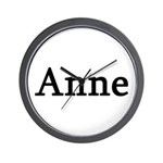Anne - Personalized Wall Clock