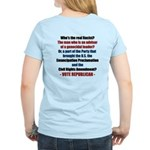 Who's the REAL Racist? Women's Light T-Shirt